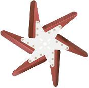 "93182 Aluminum Flex Fan, 18"" Red Blades, Chrome Center"