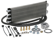 40189 HD Universal Engine Oil Cooler Kit (Sandwich Style) 500 HP