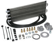 40195 HD Universal Engine Oil Cooler Kit (Remote Style) 500 HP