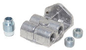 "1794 Single Filter Mount, 1/2"" NPT Ports L&R, 1""-14 Thread"