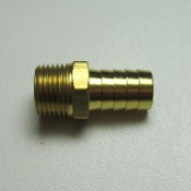 "15154 Hose Barb Fitting, 5/8"" HB x 1/2"" MPT (1)"
