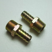 "15156 Hose Barb Fitting, 1/2"" HB x 1/2"" MPT (2)"