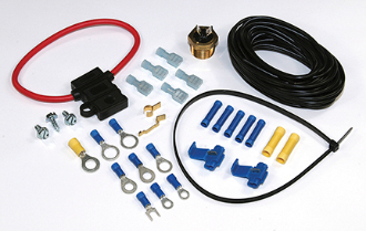 electric fan wiring kit 1 2 npt screw in thermo switch rh shop perma cool com