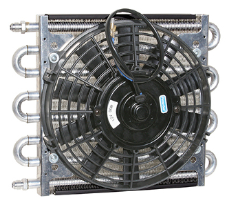 "13511 Maxi-Cool Jr. 8-pass Coil & 10"" Electric Fan Assembly"