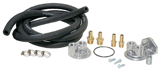 10612 Standard Oil Filter Relocation Kit (single), M18x1.5