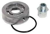 "164 Turbo Oiler Adapter, 13/16""-16 thread"