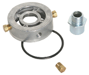 "70161 Adapter, Engine Oil Cooler & Turbo Supply 3/4""-16 Thread"