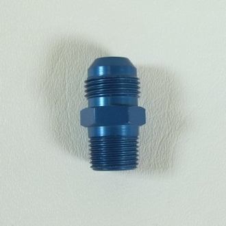 "15268 Adapter Fitting, -8AN to 3/8"" MPT"