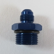 15306 Adapter Fitting, -10 O-Ring Boss to -6AN Male