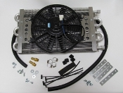 13182 HD Trans Cooler/Electric Fan Kit for Diesel applications