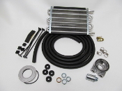 69189 Universal Oil Cooler Kit (Sandwich Style) 200 HP