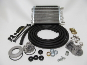 69195 Universal Oil Cooler Kit (Remote Style) 200 HP
