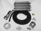 10189 Universal Oil Cooler Kit (Sandwich Style) 300HP