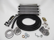 10195 Universal Oil Cooler Kit (Remote Style) 300HP