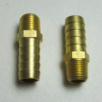 "15149 Hose Barb Fitting, 1/4"" NPT x 1/2"" HB (2)"