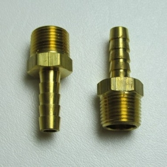 "15151 Hose Barb Fitting, 5/16"" HB x 3/8"" MPT (2)"