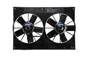 "19411 High Performance Dual (11"") Electric Fans w/Shroud"